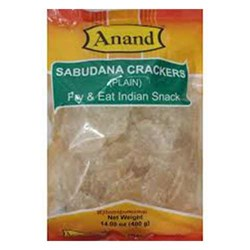 Picture of Anand Sabudana Papad Crackers Plain 400gm