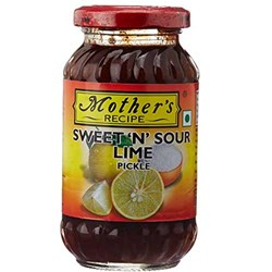Picture of Mother's Recipe Sweet N Sour Lime Pickle 575gm.