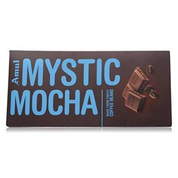 Picture of Amul Mystic Mocha Chocolate Bar 150gm.