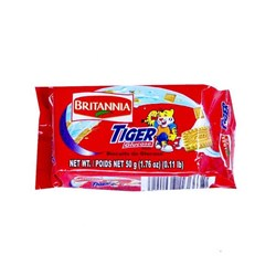 Picture of Britannia Tiger Biscuit 50gm.