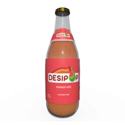 Picture of Desipop Mango Fizz Soda 12oz