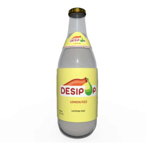 Picture of Desipop Lemon Fizz Soda 12oz