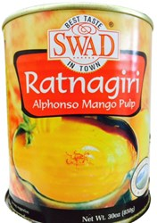 Picture of Swad Alphonso Mango Pulp 850gm