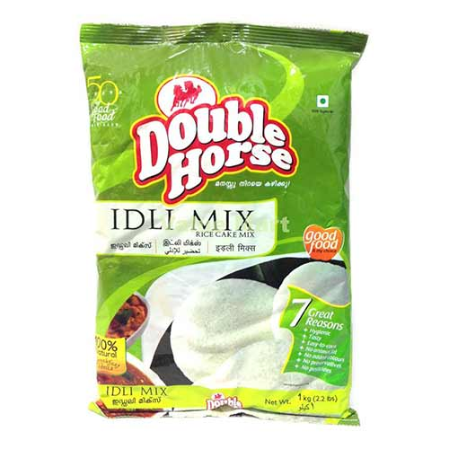 Picture of Double Horse Idli Rava Mix 1kg