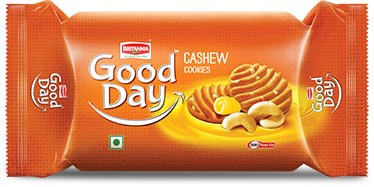 Picture of Britannia Good Day Cashew Cookies 2.6oz