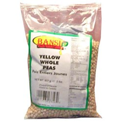 Picture of Bansi Whole Yellow Peas 2lb