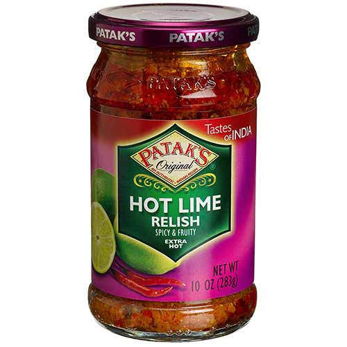 Picture of Patak's Hot Lime Relish 10oz