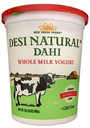 Picture of Desi Dahi Yogurt Whole Milk 2lb.