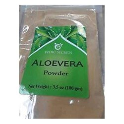 Picture of Vedic Secrets Aloevera Powder 100gm