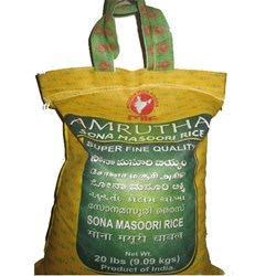 Picture of Amrutha Sona Masoori Rice 20lb