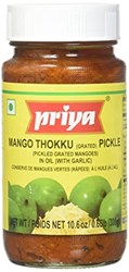 Picture of Priya Mango Thokku With Garlic 300gm