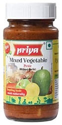 Picture of Priya Mixed Vegetable Pickle 300gm