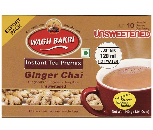 Picture of Wagh Bakri Unsweetened Ginger Tea Bags 10pc
