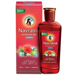 Picture of Navratna Ayurvedic Oil 500mL