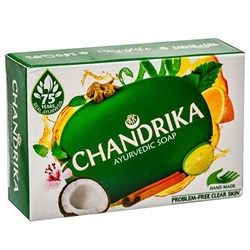 Picture of Chandrika Ayurvedic Soap 75gm