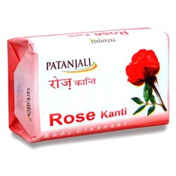 Picture of Patanjali Rose Soap 75gm
