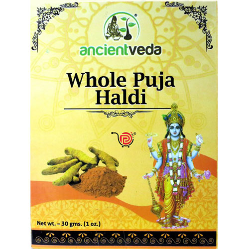 Picture of Ancient Veda Whole Puja Haldi 30gm