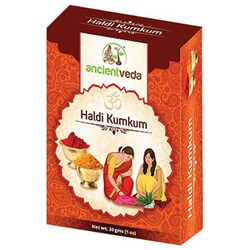 Picture of Ancient Veda Haldi Kumkum 1oz