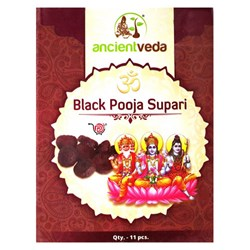 Picture of Ancient Veda Black Pooja Supari 11pc
