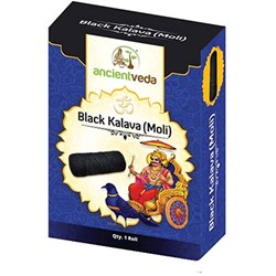 Picture of Ancient Veda Black Kalava (Moli) 1 Roll