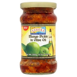 Picture of Ashoka mango pickle in olive oil  300g