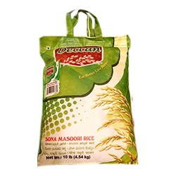 Picture of Deccan Sona Masoori Rice 10lb
