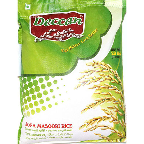 Picture of Deccan Sona Masoori Rice 20lb
