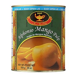 Picture of Deep Alphonso Mango Pulp 850gm