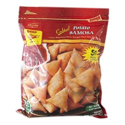 Picture of Deep Cocktail Potato Samosa - 50pc.