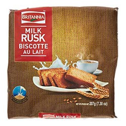 Picture of Britannia Toastea Milk Rusk 207gm