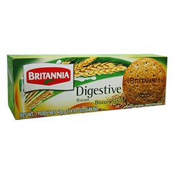 Picture of Britannia Digestive Biscuits 400gm