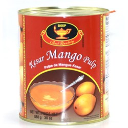 Picture of Deep Kesar Mango Pulp 850gm