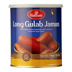 Picture of Haldiram Long Gulab Jamun 1kg