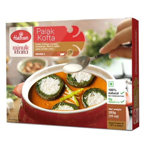 Picture of Haldiram Palak Kofta 283gm