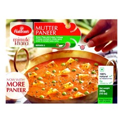 Picture of Haldiram Mutter Paneer 283gm