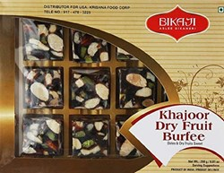 Picture of Bikaji Khajoor Dry Fruit Burfee 250gm