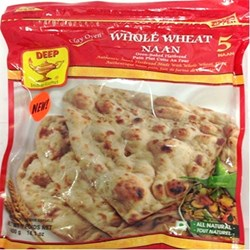 Picture of Deep Whole Wheat Naan 5 pc