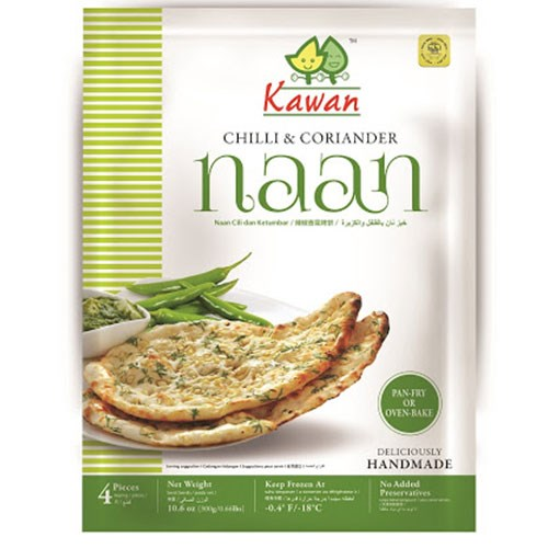 Picture of Kawan Chili Coriander Naan 4pc
