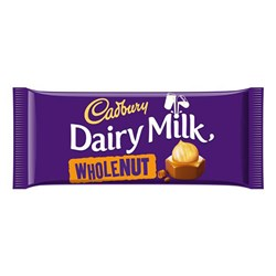 Picture of Cadbury Whole Nut Bar 120gm