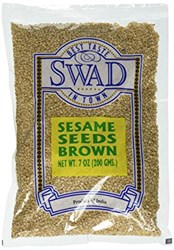 Picture of Swad Brown Sesame Seeds 7oz