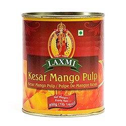 Picture of Laxmi Kesar Mango Pulp 850gm
