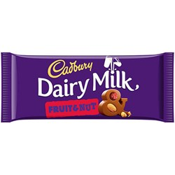Picture of Cadbury Fruit & Nut Bar 110gm