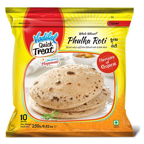 Picture of Vadilal Phulka Roti 10pc