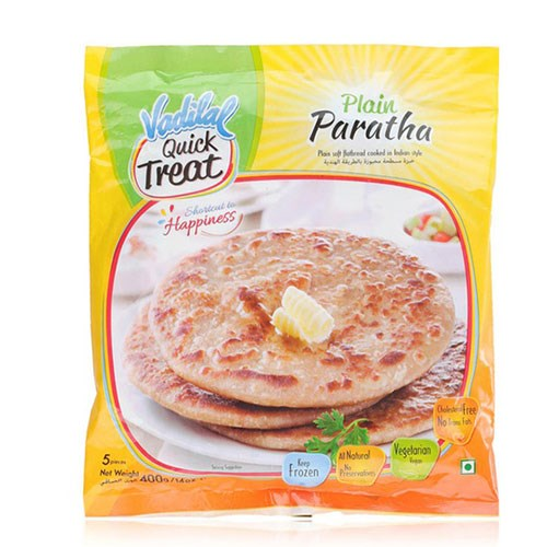 Picture of Vadilal Plain Paratha 400gm