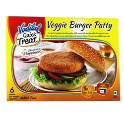 Picture of Vadilal Veggie Burger Patty 360gm