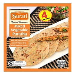 Picture of Surati Mix Veg Paratha 4pc