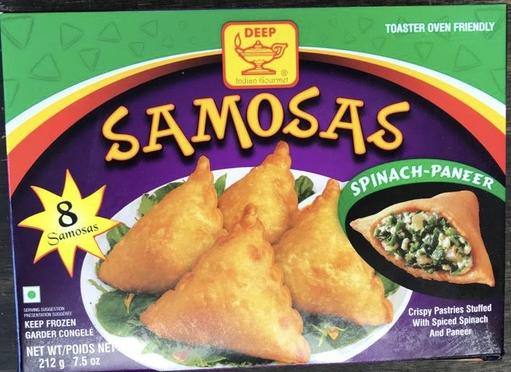 Picture of Deep Spinach Paneer Samosa 8pc