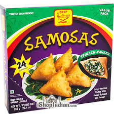 Picture of Deep Spinach-Paneer Samosa 24ct.