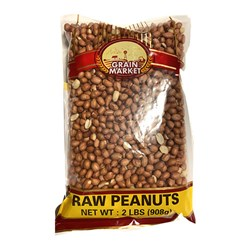 Picture of Grain Market Raw Peanuts 2lb