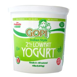 Picture of Gopi Low Fat Yogurt 4lb